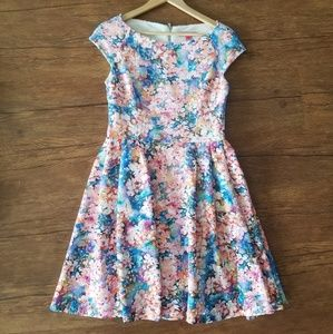 Betsey Johnson Floral Fit & Flare